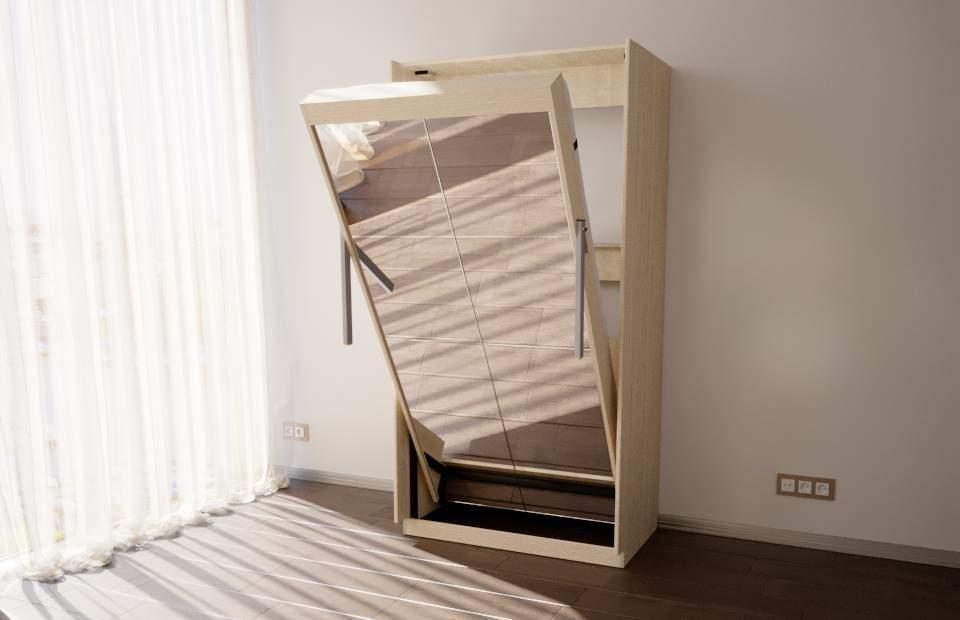 1-спальная подъёмная кровать в спб