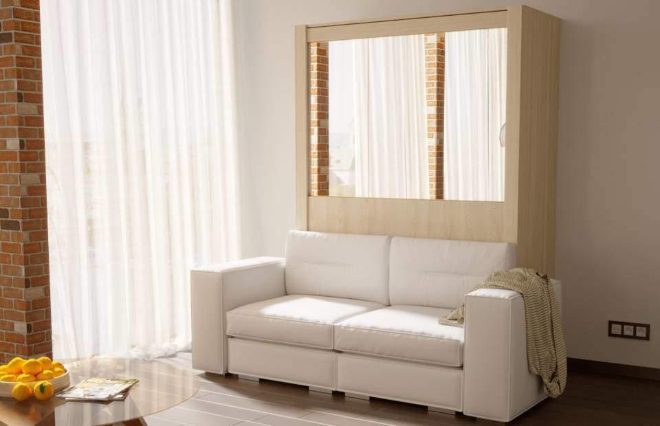 Двуспальная подъёмная кровать с диваном цена