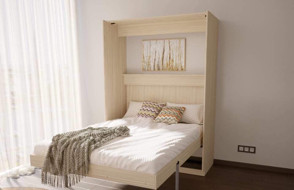 Подъемная двуспальная кровать купить