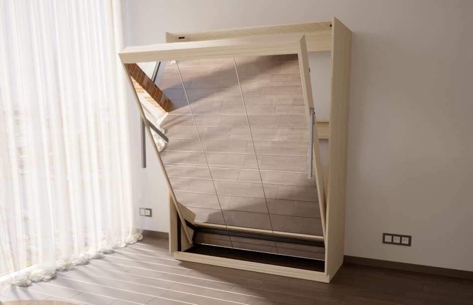 Подъемная двуспальная кровать в спб