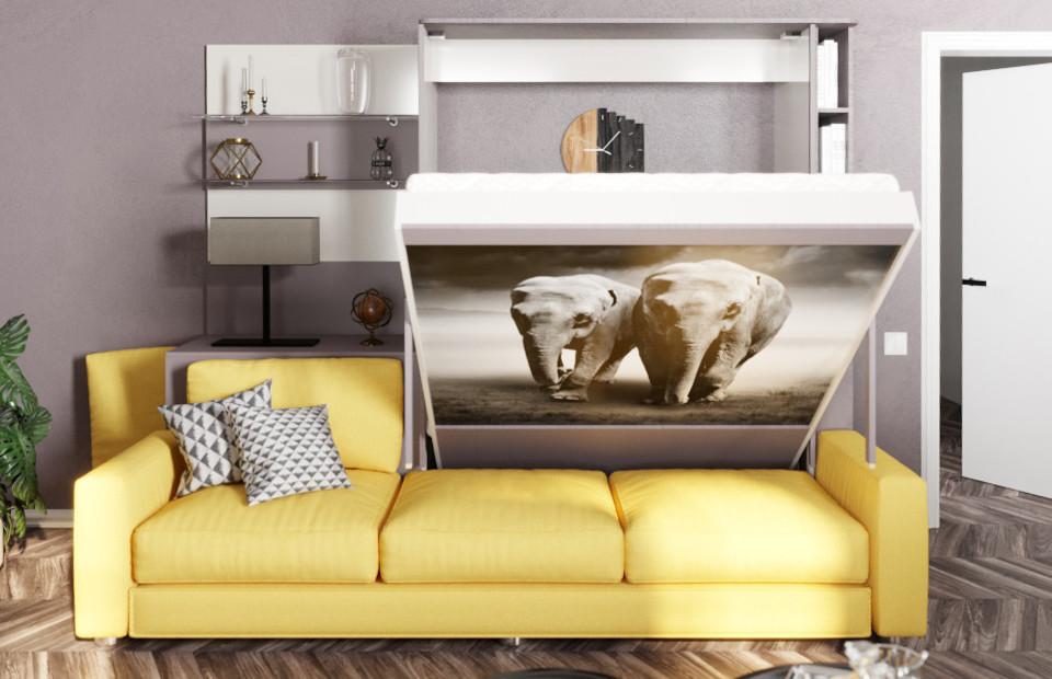 Комплект с подъёмной кроватью и диваном «Кампо» спб