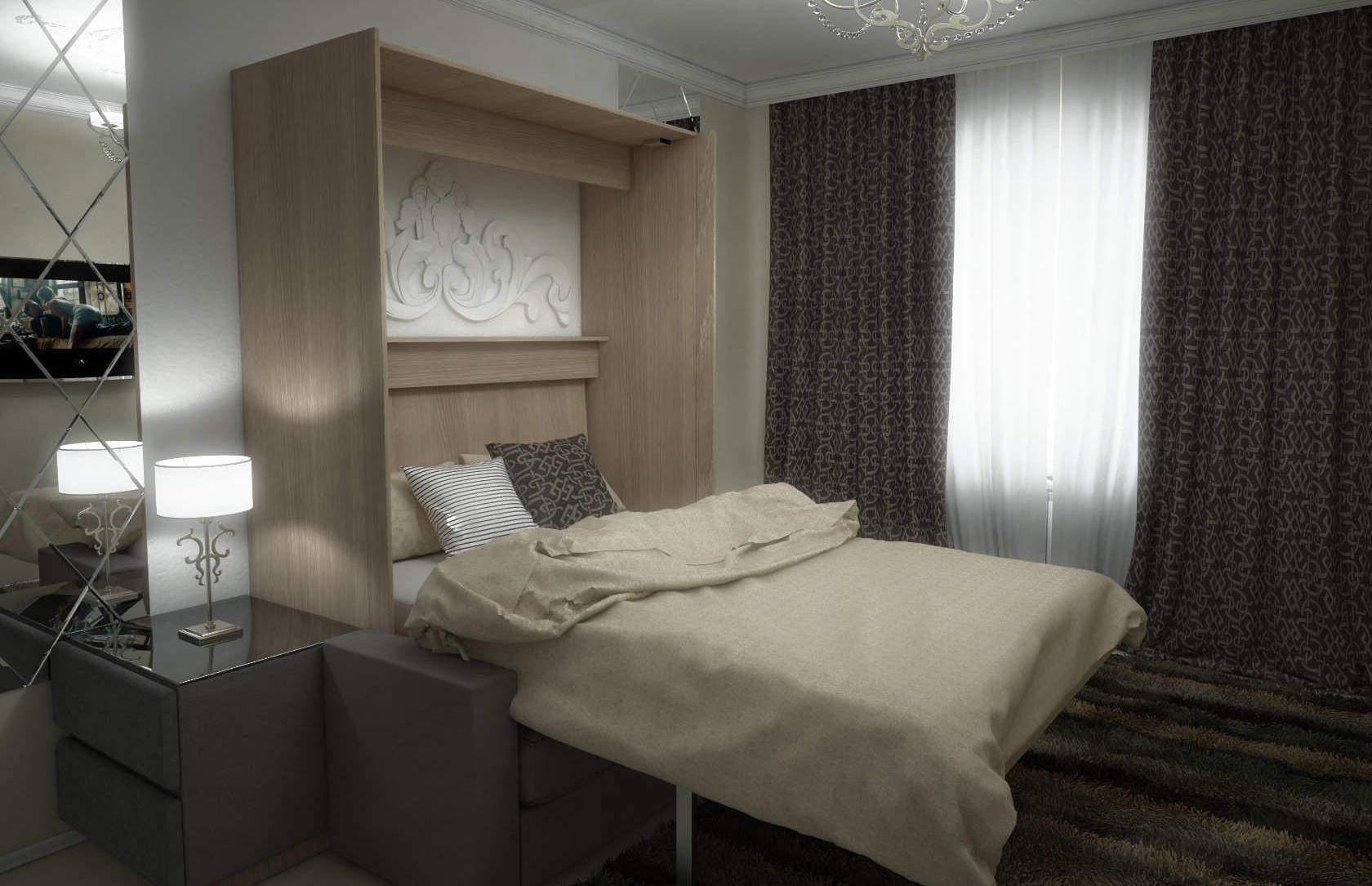 Комплект с подъёмной кроватью и диваном «Соло» купить