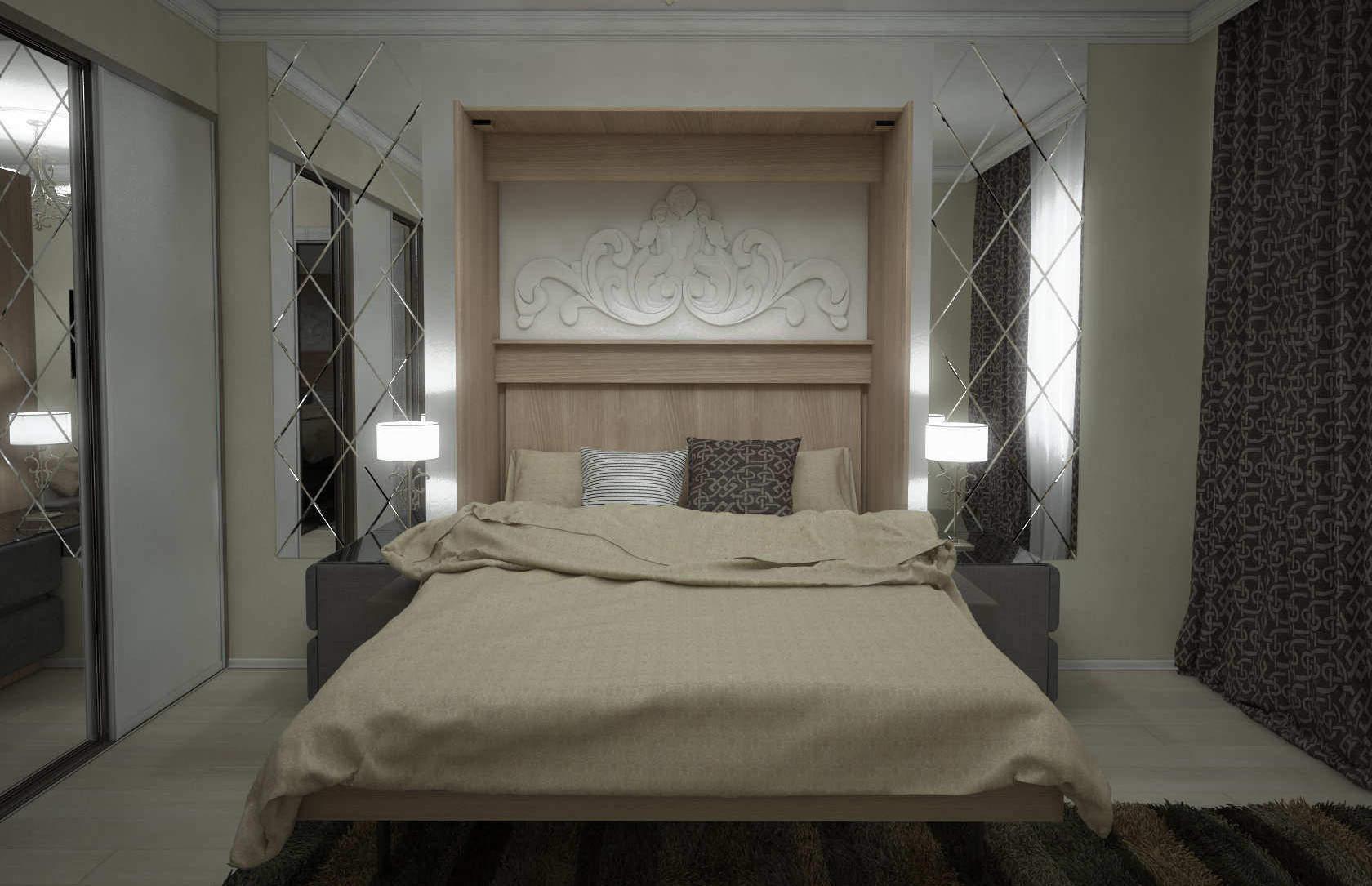 Комплект с подъёмной кроватью и диваном «Соло» цена