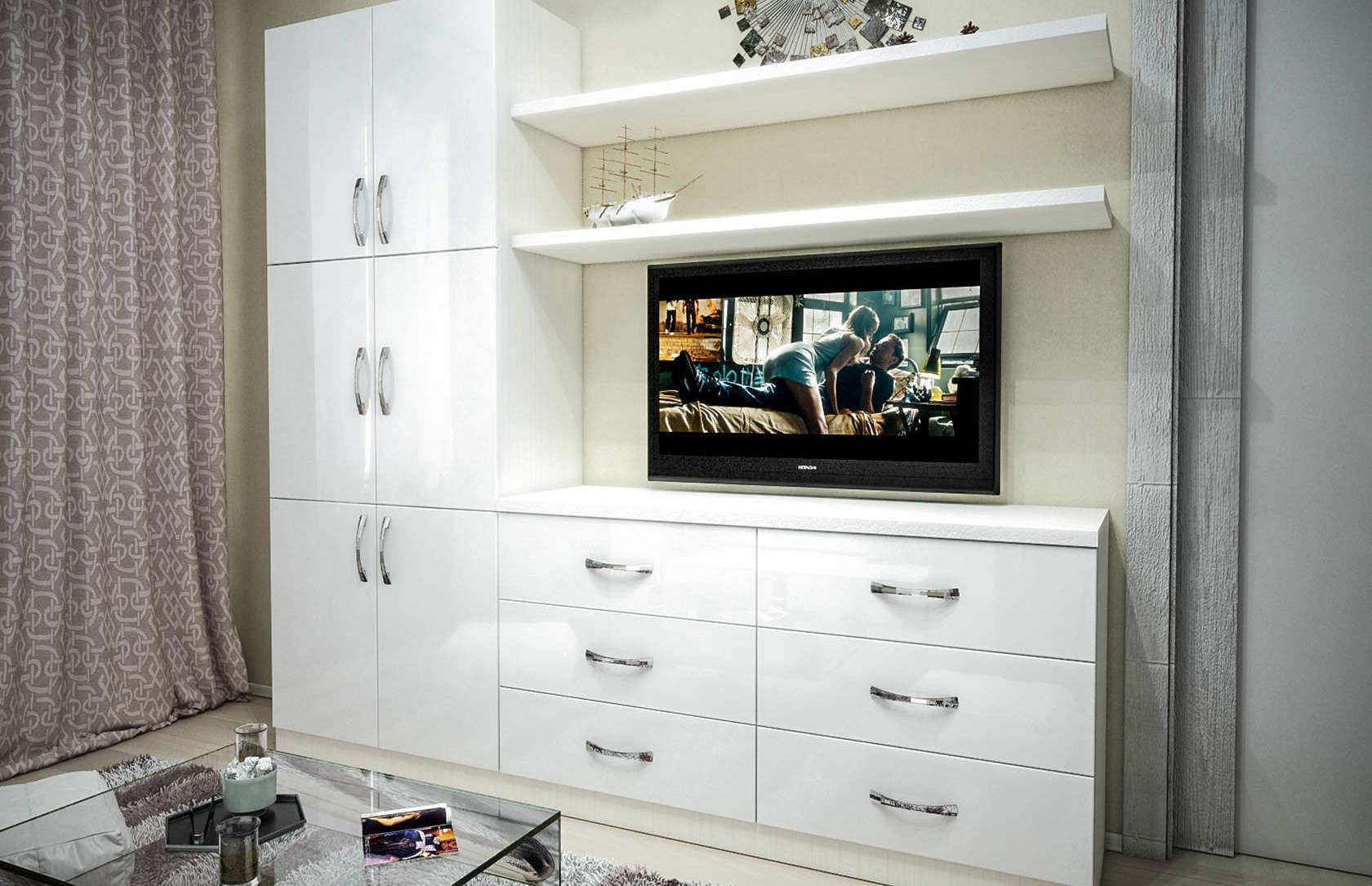 Комплект с 1-спальной подъёмной кроватью и диваном «Блик» цена