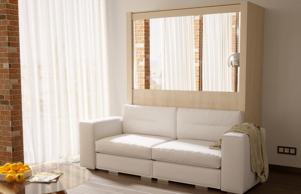 Подъёмная кровать «ЕВРО» с диваном цена