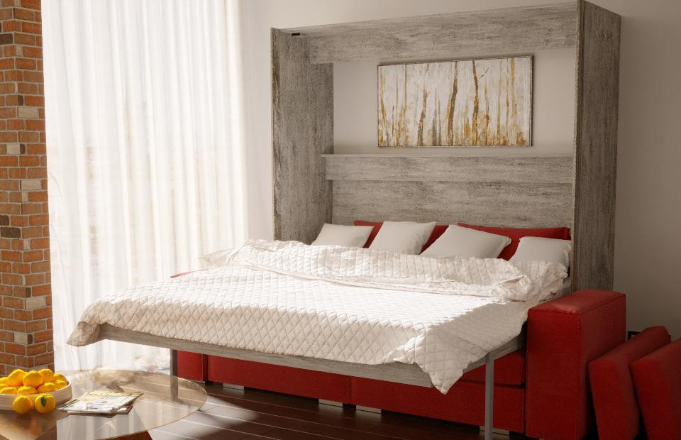 Подъёмная кровать «ЛЮКС» с диваном купить