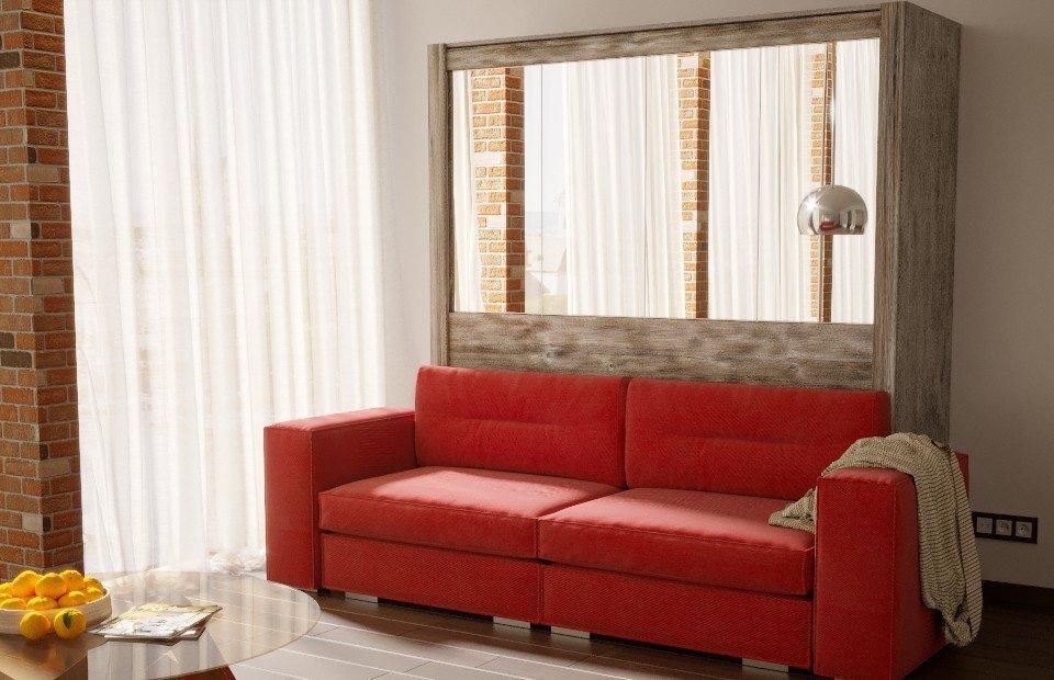 """Подъемная кровать """"Люкс"""" с диваном"""