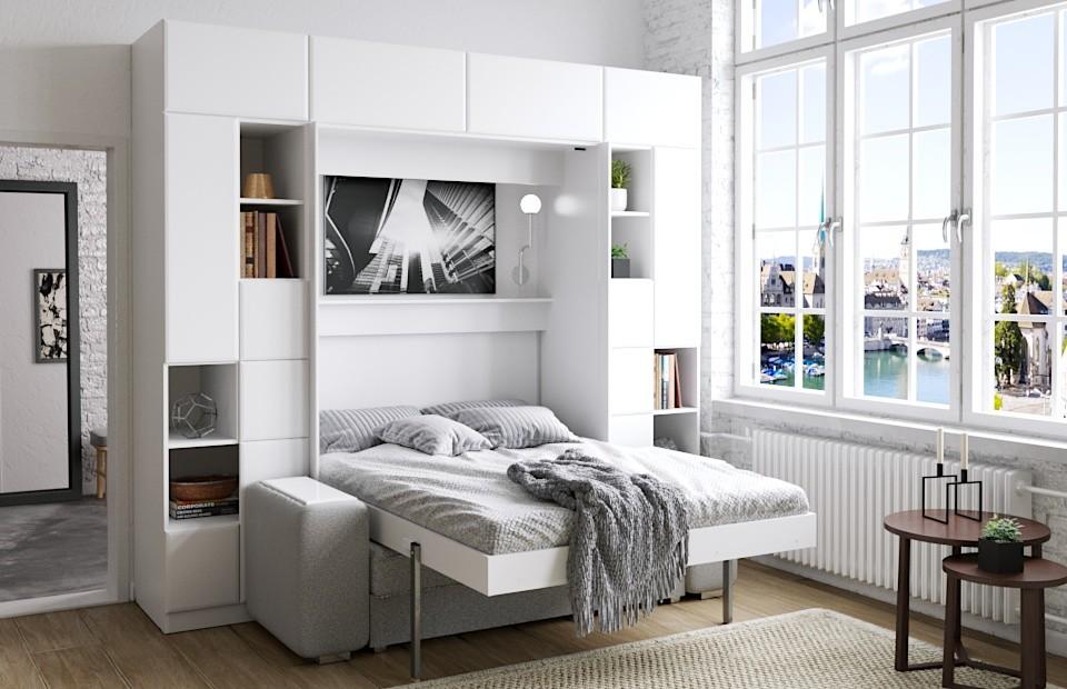 Подъёмная кровать ОПТИМУМ | Комплект «Скандинавия»