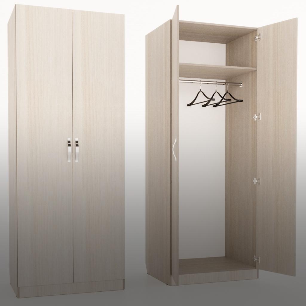 Шкафы двухстворчатые
