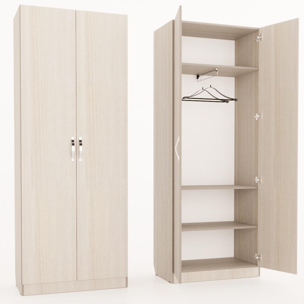 Шкаф с выдвижной штангой
