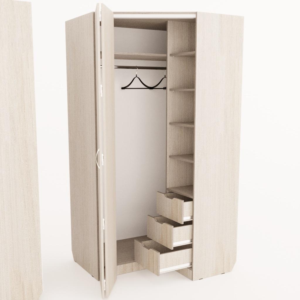 Wing Line Угловой шкаф
